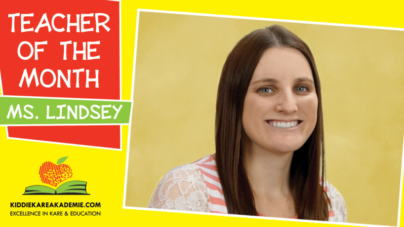 May Teacher of the Month: Ms. Lindsey