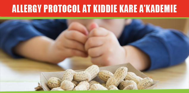Allergy Protocol at Kiddie Kare A'Kademie