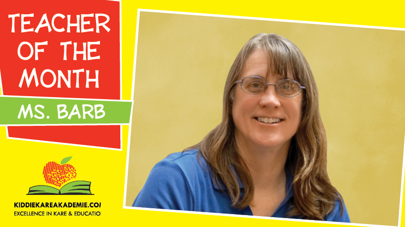 June Teacher of the Month: Ms. Barb