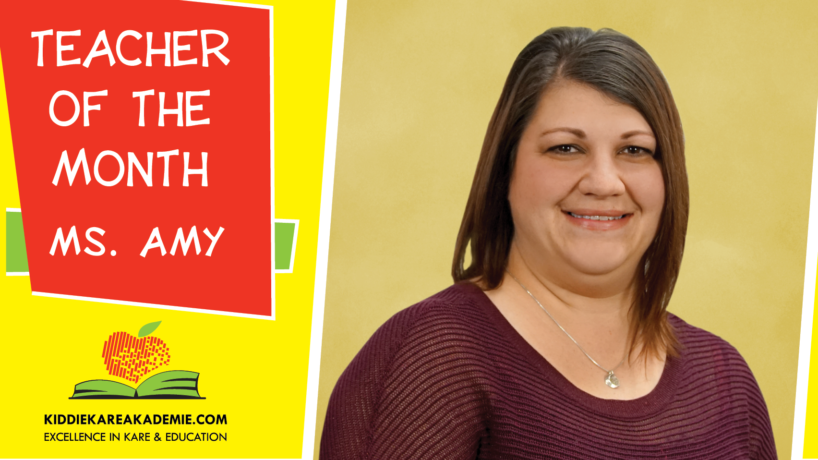 August Teacher of the Month: Ms. Amy