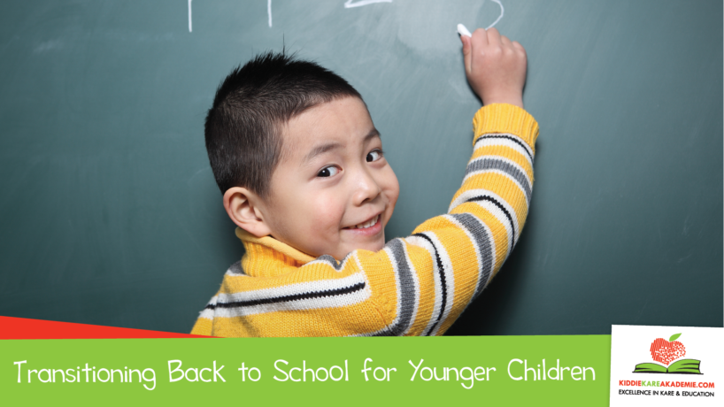 Transitioning Back to School for Younger Children