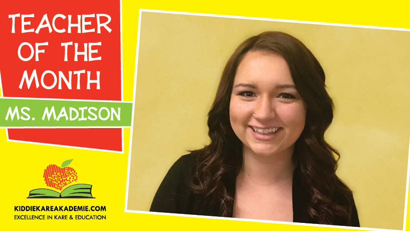 February Teacher of the Month: Ms. Madison
