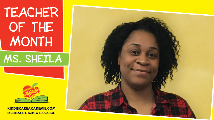 March Teacher of the Month: Ms. Sheila