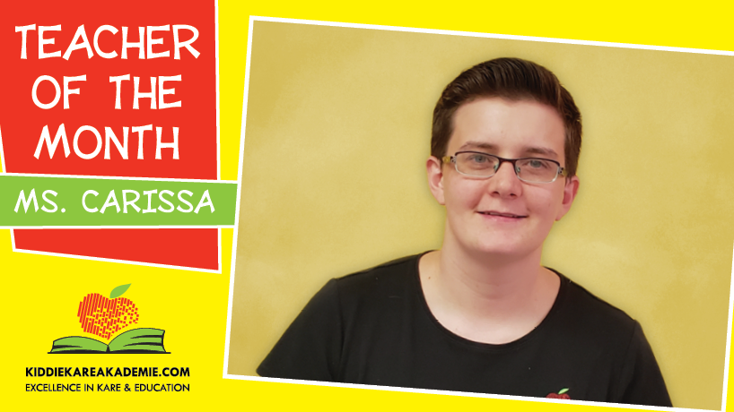 October Teacher of the Month: Ms. Carissa